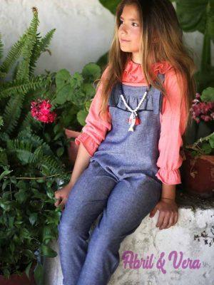 Mono lino azul Pilar Batanero 11