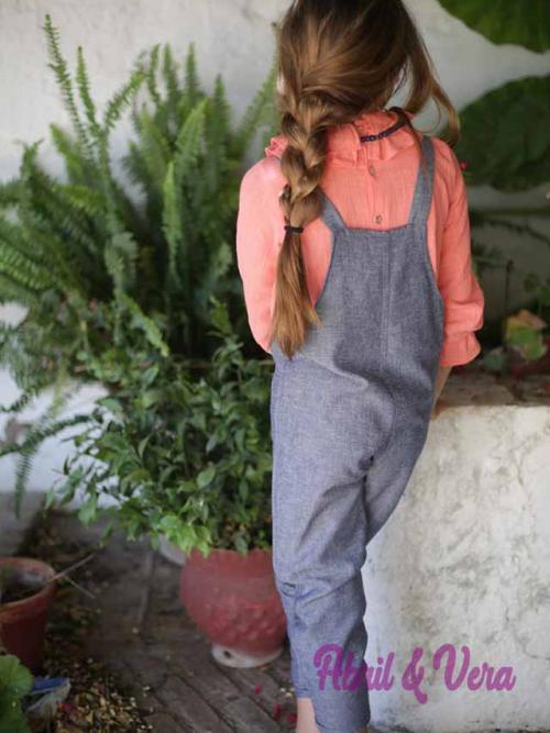 Mono lino azul Pilar Batanero 22