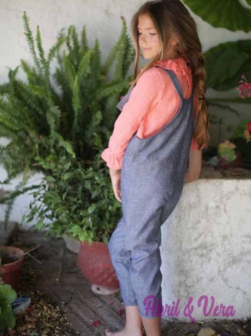 Mono lino azul Pilar Batanero 44
