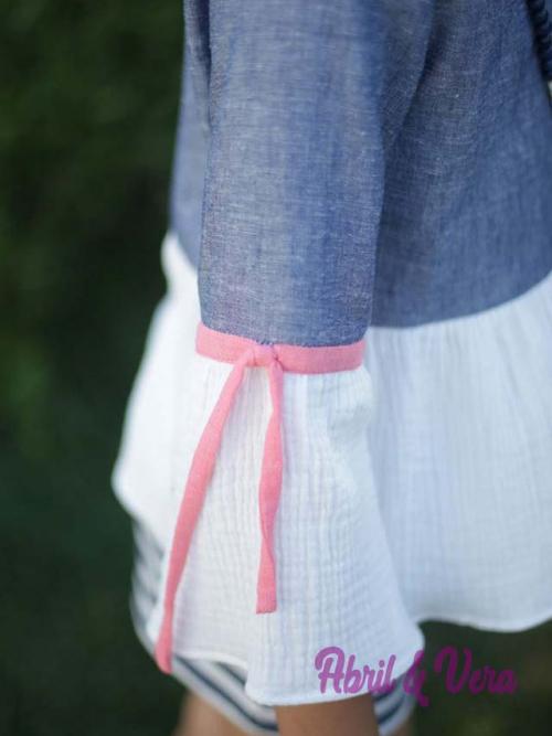 blusa lino detalles algodon cuello caja y manga trompeta1