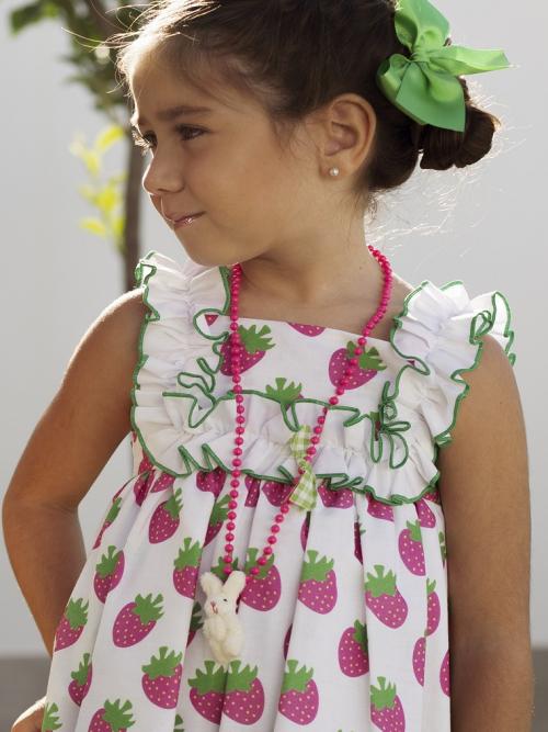 vestido niña mon petit bonbon