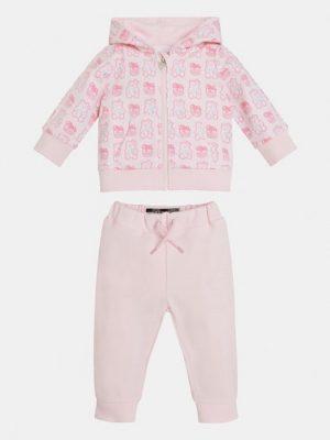 conjunto de sudadera y pantalon guess para niña