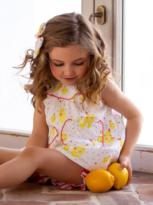 jesusito limones y corazones niña kids chocolate