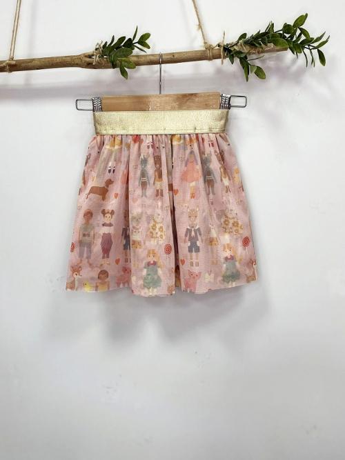 conjunto sudadera muñeca niña G y falda cromo tull_3